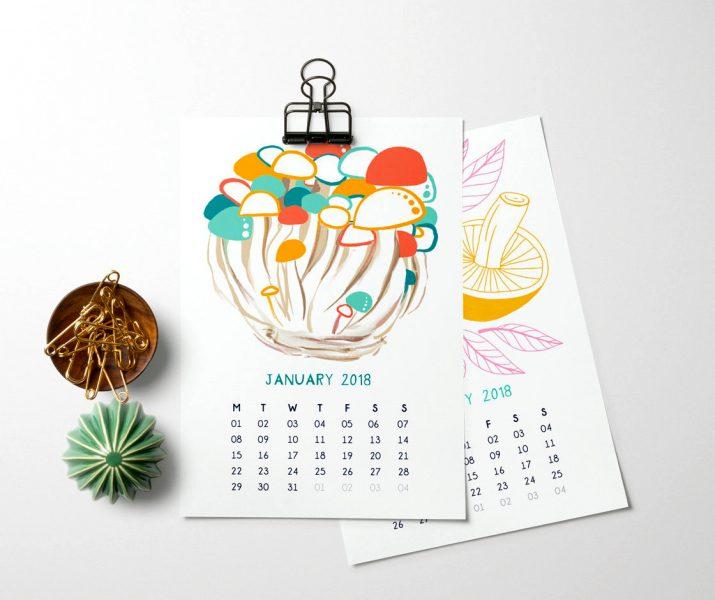 Calendar Art Design : Тенденции в дизайне календарей на год pioneer